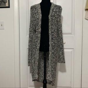 Hollister long sleeve cardigan size M/L
